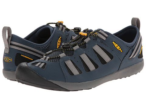 Keen - Class 5 Tech (Midnight Navy/Gargoyle) Men's Lace up casual Shoes