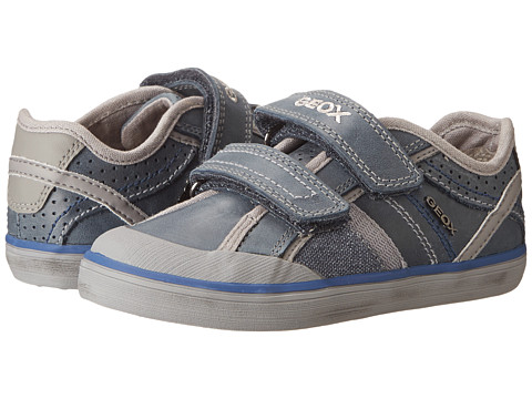 Geox Kids - Jr Kiwi Boy 42 (Toddler/Little Kid) (Navy) Boys Shoes