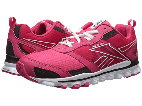 Reebok - Hexaffect Run (Blazing Pink/Urban Plum/White) Women's Shoes