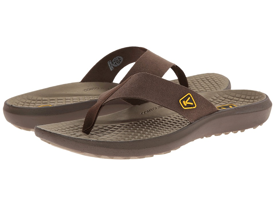 Keen - Class 5 Flip (Cascade Brown/Brindle) Men's Sandals