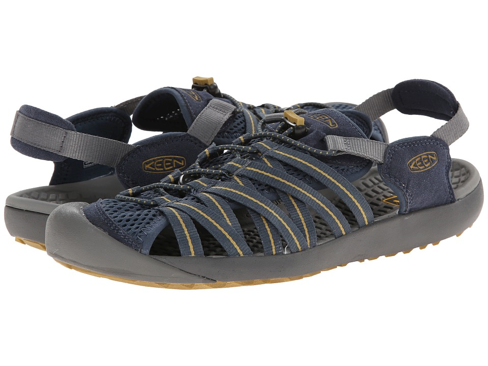 Keen - Kuta (Midnight Navy/Amber Green) Men's Shoes