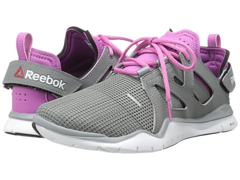 Reebok - ZCut TR (Foggy Grey/Flat Grey/Ultraberry/White/Black) Women