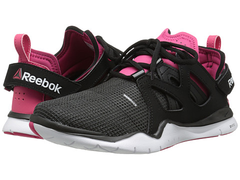 Reebok - ZCut TR (Black/Gravel/Blazing Pink/White) Women