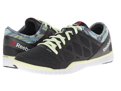 Reebok - ZQuick TR 3.0 (Wow Print - Gravel/Citrus Glow/White) Women's Shoes