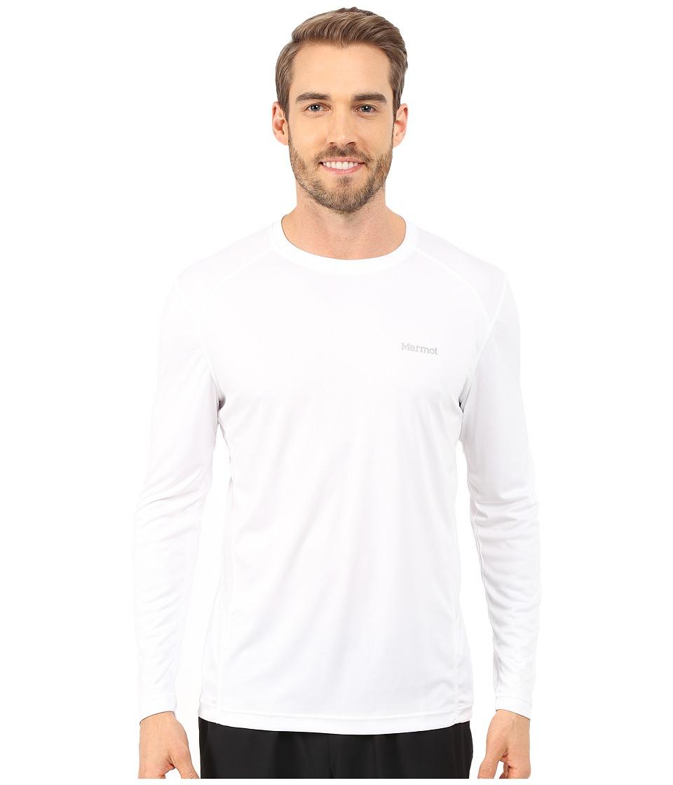 Marmot - Windridge LS (White) Men's Long Sleeve Pullover