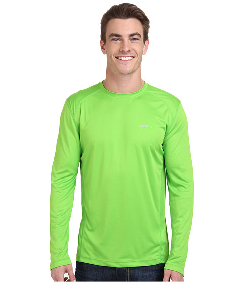 Marmot - Windridge LS (Green Envy) Men