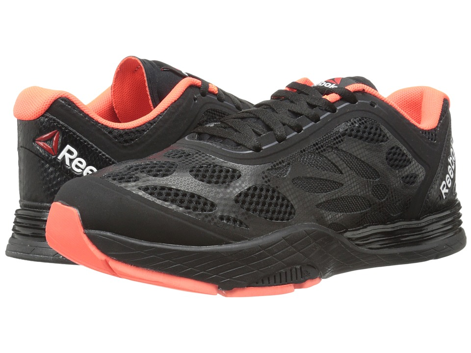 Reebok - Cardio Ultra (Black/Vitamin C/Gravel) Women's Shoes