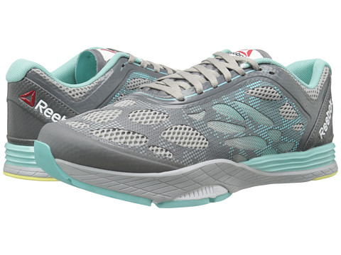 Reebok - Cardio Ultra (MGH Solid Grey/Shark/Stee/Crystal Blue/Yellow Filament) Women