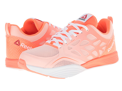 Reebok - Cardio Inspire Low (Coral Glow/Coral/Vitamin C/White) Women's Shoes