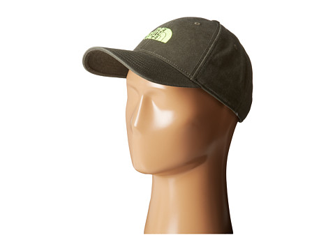 The North Face - 68 Classic Hat (Black Ink Green/Safety Green) Caps