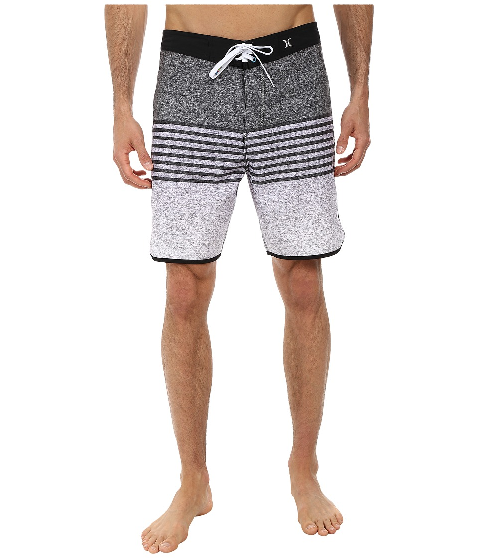 Hurley - Phantom Flight Boardshort (Black) Men's Swimwear