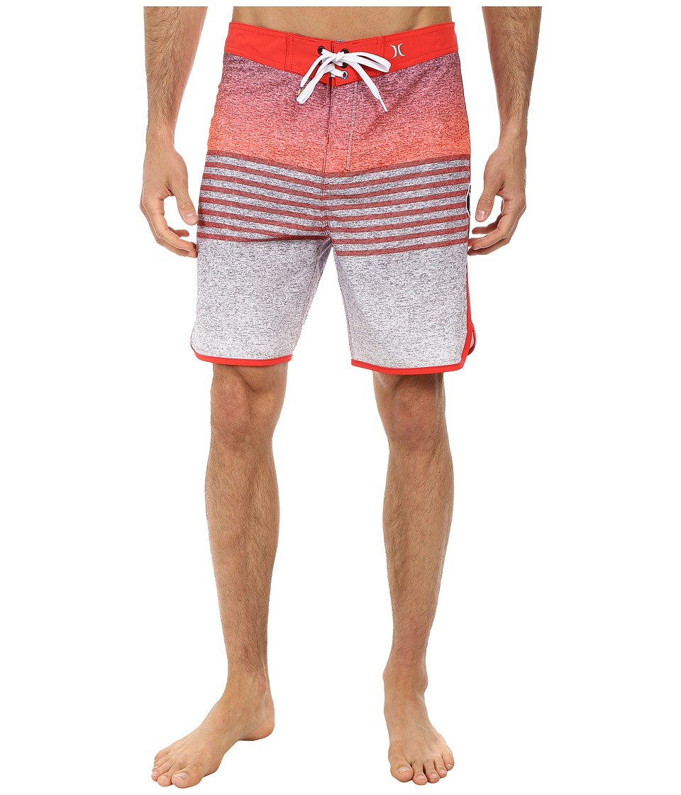 Hurley - Phantom Flight Boardshort (Daring Red) Men's Swimwear