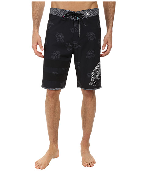 Hurley - Phantom Block Party Hendricks Boardshort (Black) Men