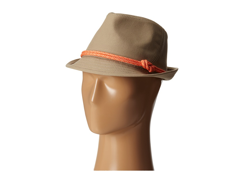 The North Face - Figure 8 Fedora (Dune Beige (Emberglow Orange/Punch Orange)) Fedora Hats