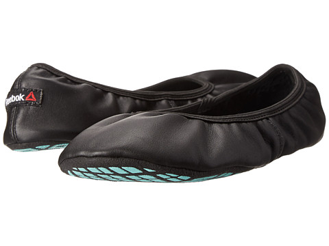 Reebok - True Studio Slipper 3.0 T (Black/Crystal Blue/Paper White) Women