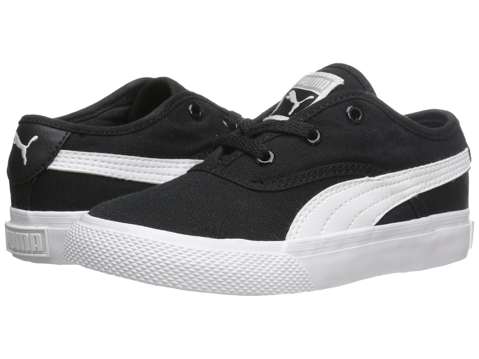 Puma Kids - El Loch (Toddler/Little Kid) (Black/White) Boys Shoes