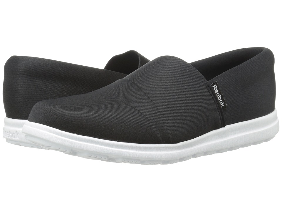 7d4d38bffd139c ... UPC 888169237204 product image for Reebok - Skyscape Harmony  (Black White) Women s Shoes ...