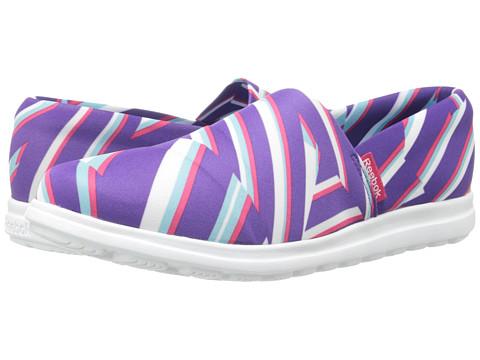 Reebok - Skyscape Harmony (Stripe - Sport Violet/White) Women
