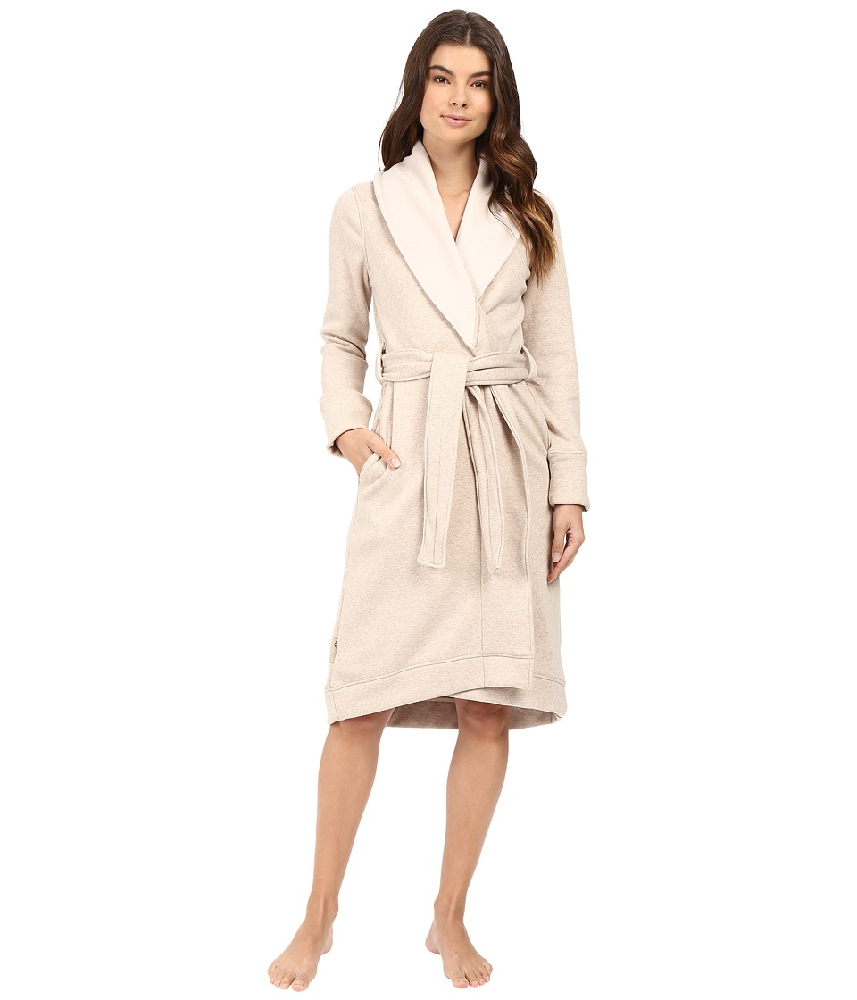 UGG - Duffield Robe (Oatmeal Heather) Women's Robe