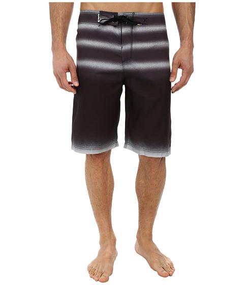 Hurley - Raglan Destroy Boardshort (Black) Men's Swimwear