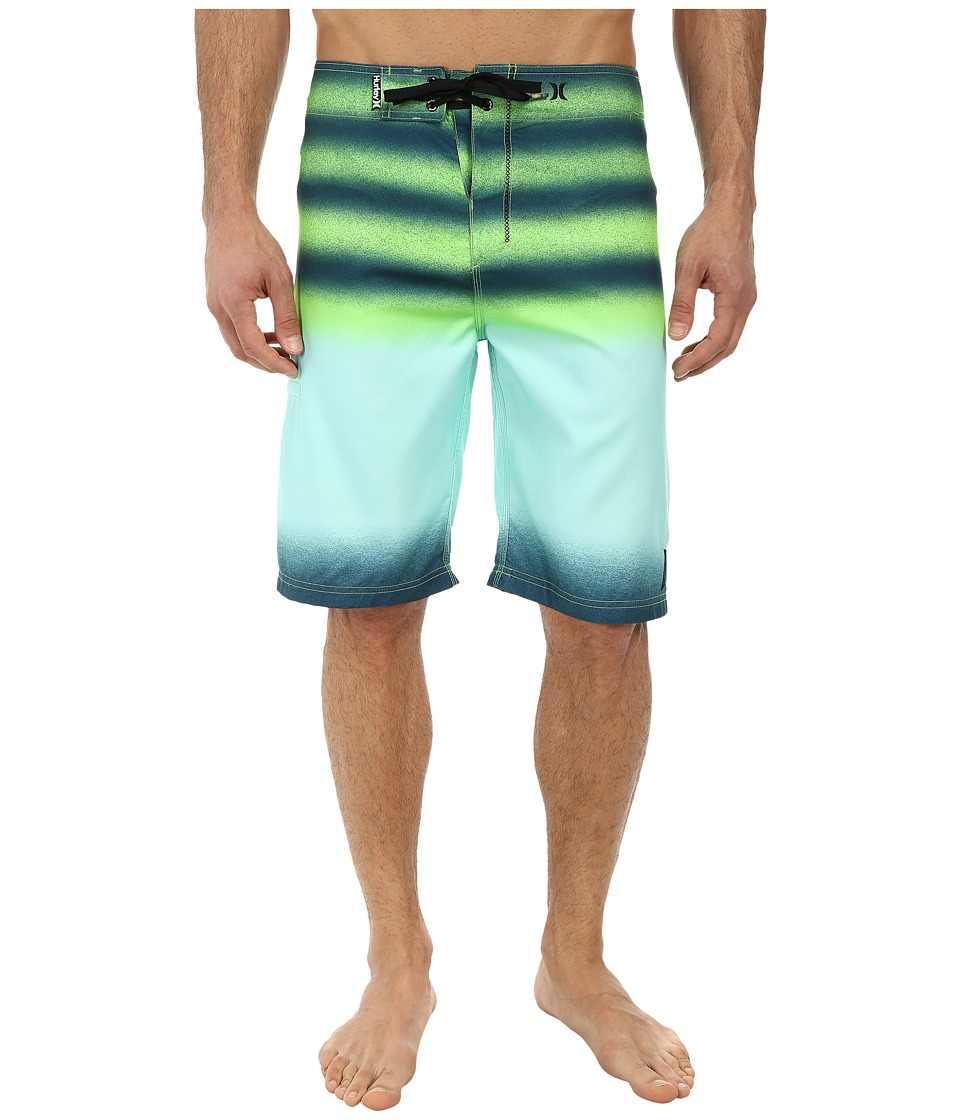 Hurley - Raglan Destroy Boardshort (Teal) Men's Swimwear