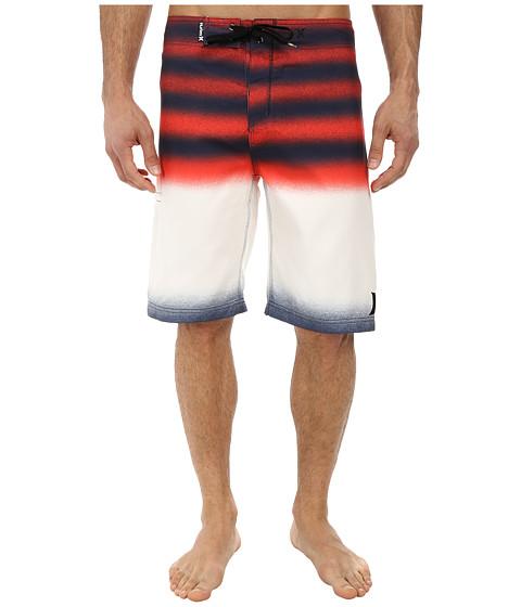 Hurley - Raglan Destroy Boardshort (Midnight Navy) Men