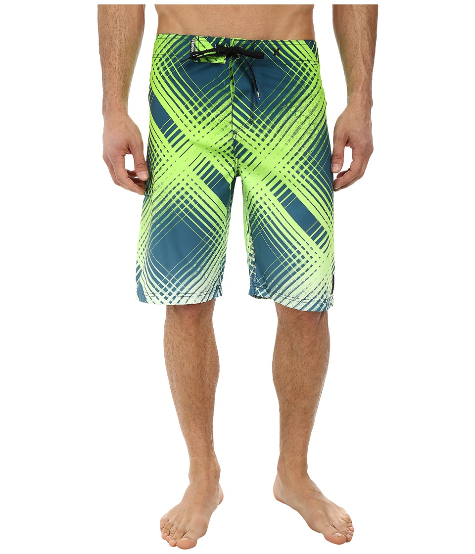 Hurley - Ray Boardshort (Teal) Men's Swimwear