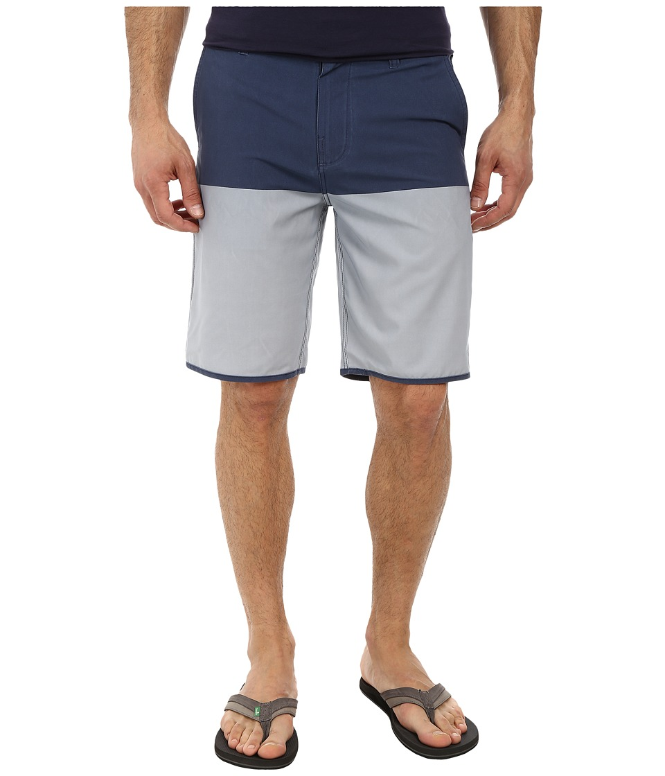 Hurley - Phantom Fifty 50 Boardwalk (Midnight Navy) Men's Shorts
