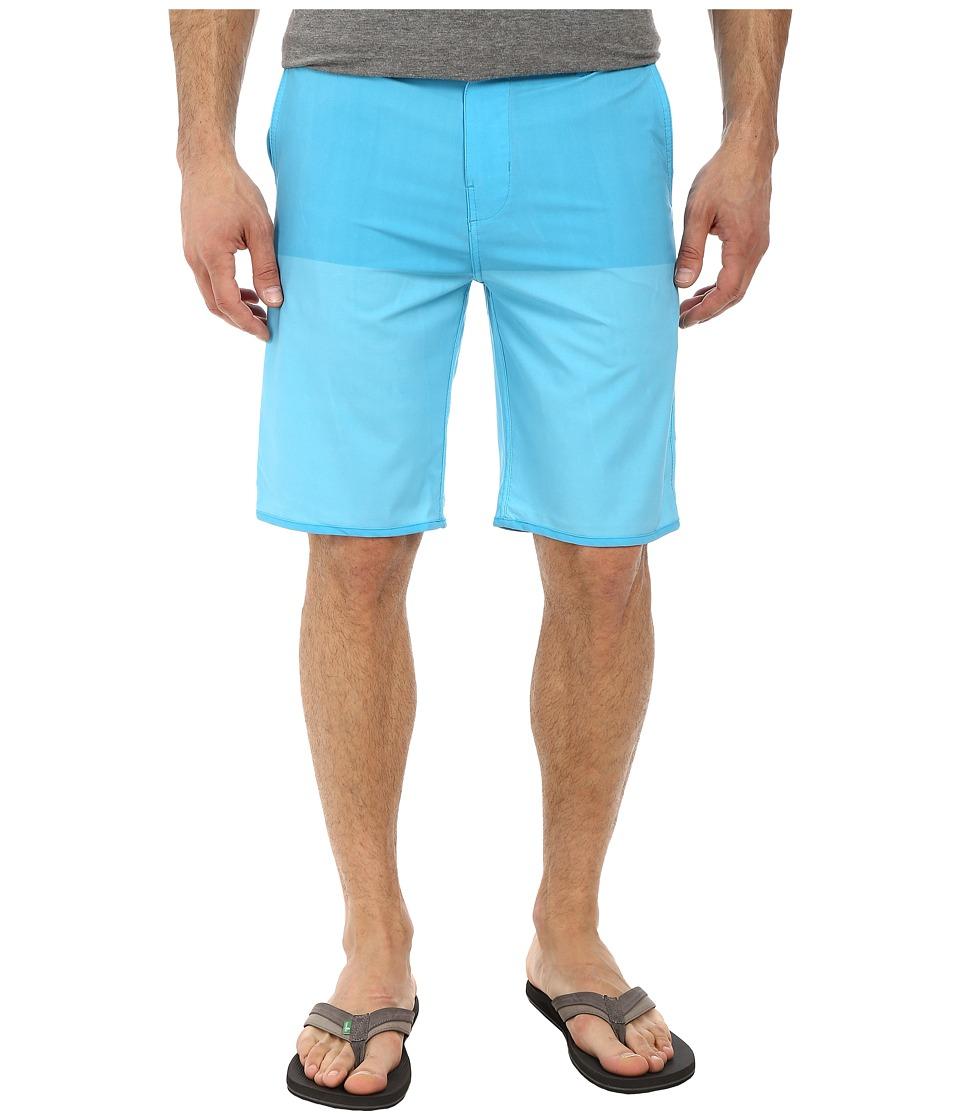 Hurley - Phantom Fifty 50 Boardwalk (Blue Lagoon) Men's Shorts