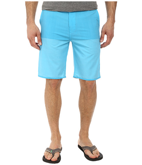 Hurley - Phantom Fifty 50 Boardwalk (Blue Lagoon) Men's Shorts