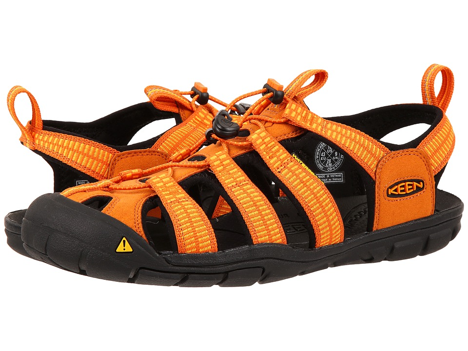 Keen - Clearwater CNX (Sunset/Marigold) Men's Shoes