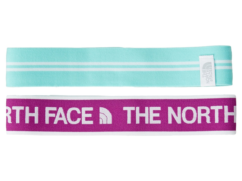 The North Face - Sporty Shorty Headbands (Magic Magenta/Bonnie Blue) Headband