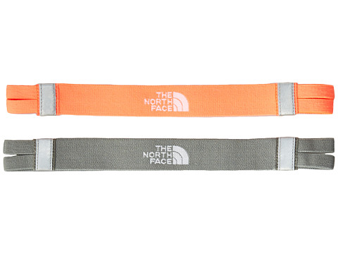 The North Face - Double Split Headband (Fiery Coral/Sedona Sage Grey) Headband