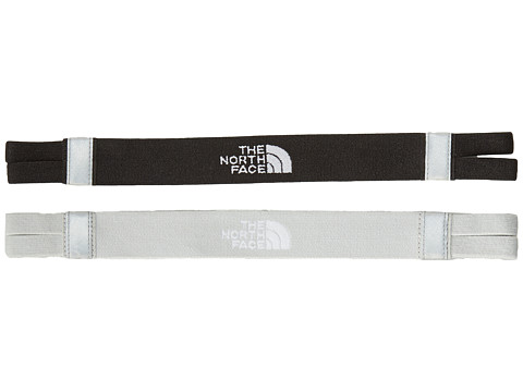 The North Face - Double Split Headband (TNF Black/High Rise Grey) Headband