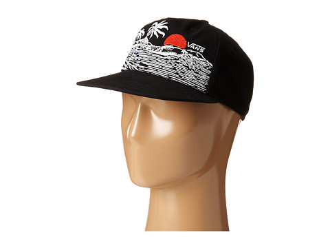 Vans - Settle Down Snapback Hat (Black) Caps