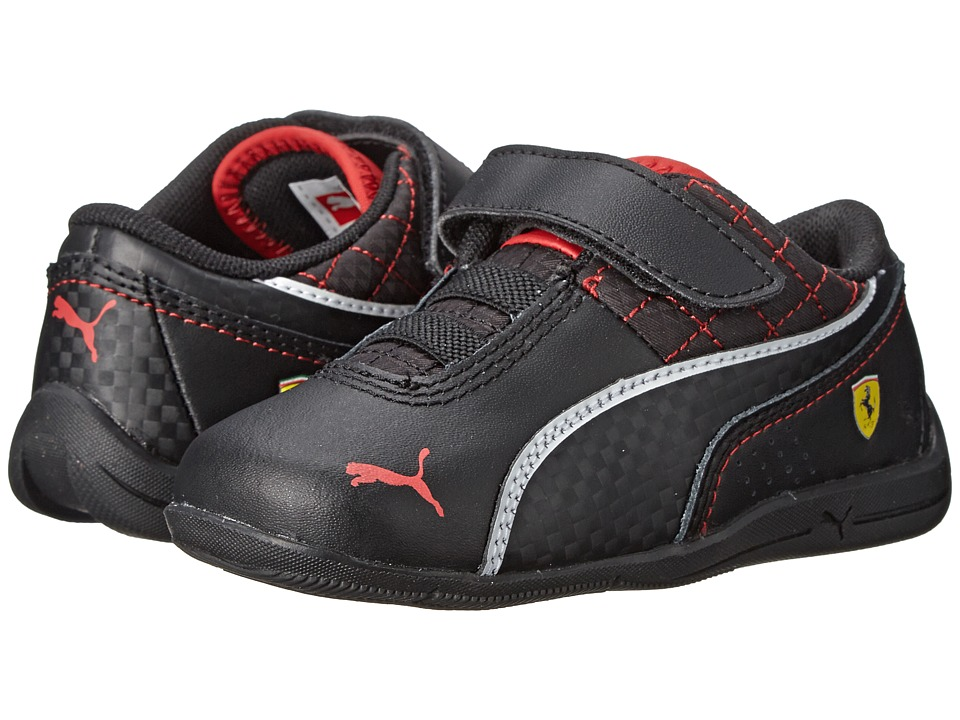 Puma Kids - Drift Cat 6 L SF V (Toddler/Little Kid/Big Kid) (Black/Black) Boys Shoes