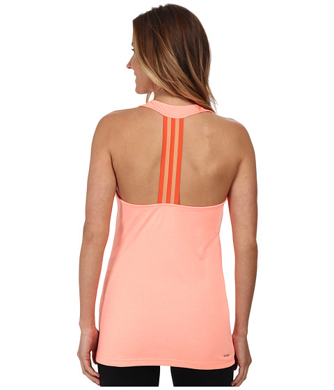 adidas - Derby Tank (Flash Orange Heather/Matte Silver) Women