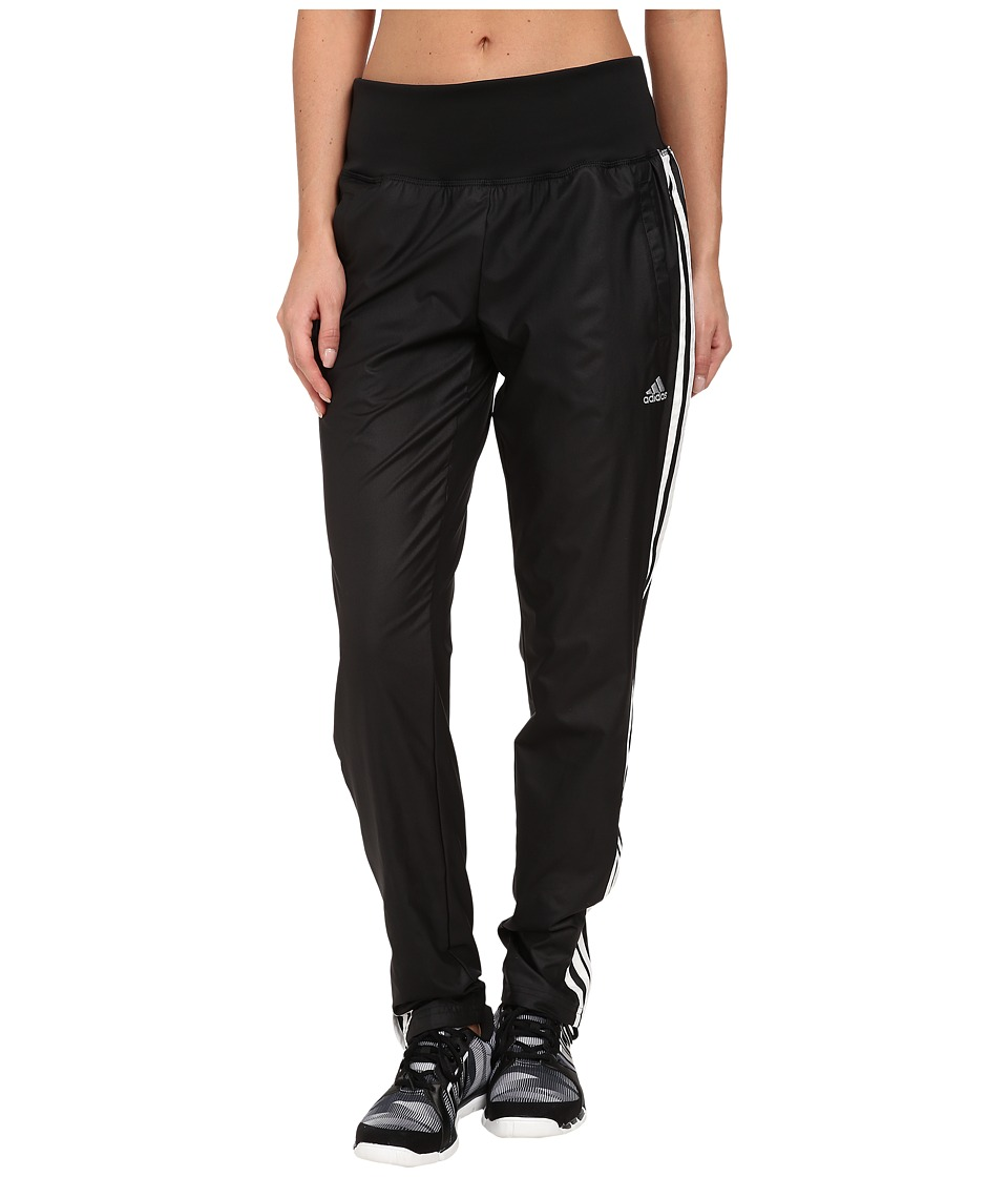 adidas - Derby Track Woven Pant (Black/White/Matte Silver) Women's Casual Pants