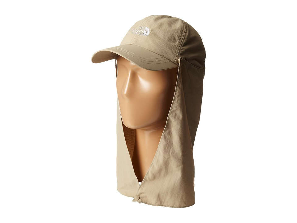 The North Face - Sun Shield Ball Cap (Dune Beige/Metallic Silver) Caps