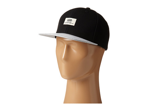 Vans - Striped Strapback Hat (Black Graphite) Caps