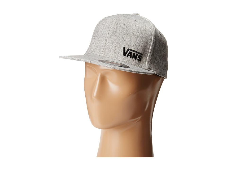 Vans - Splitz Flexfit Hat (Heather Grey) Caps