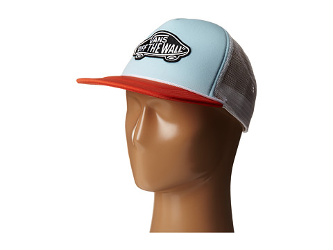 Vans - Classic Patch Trucker (Crystal Blue/Tigerlily) Caps