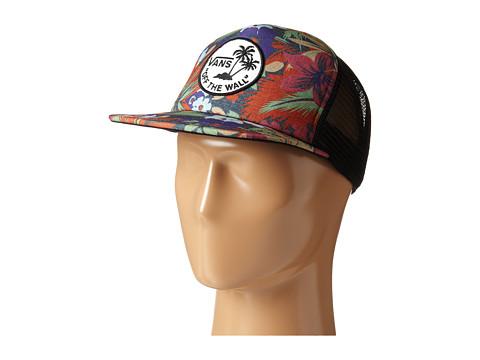 Vans - Surf Patch Trucker Hat (Hampton Floral) Caps