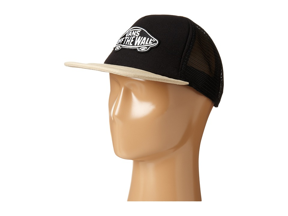 Vans - Classic Patch Trucker Plus Hat (Black/Natural Hemp) Caps
