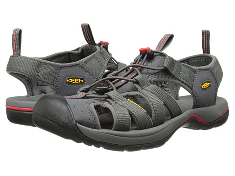 Keen - Kanyon (Magnet/Mars Red) Men's Shoes