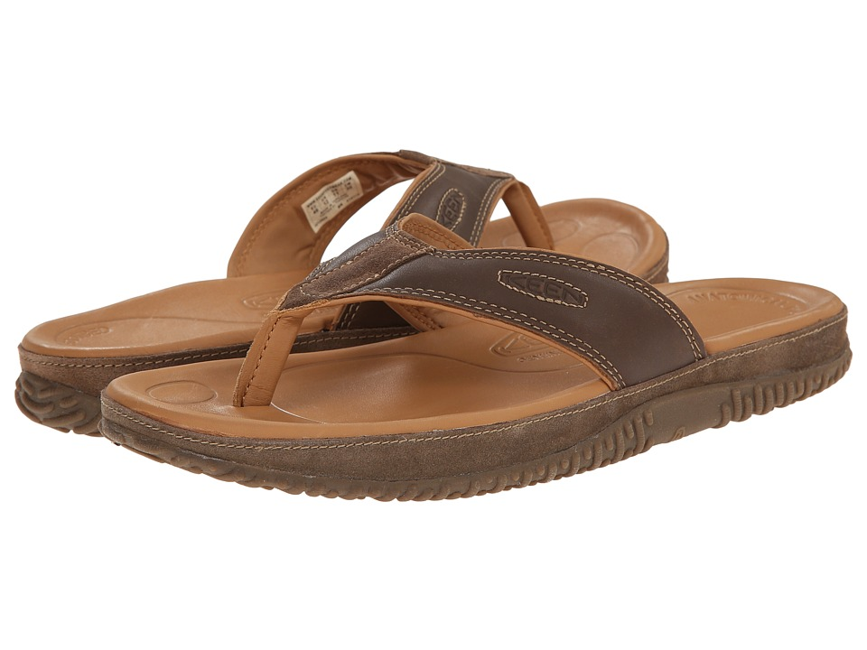 Keen - Hilo Flip (Dark Earth) Men's Sandals