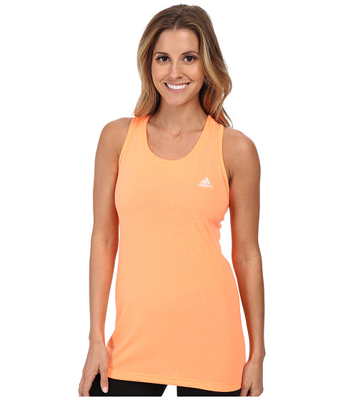 adidas - Ultimate Tank (Flash Orange/Matte Silver) Women's Sleeveless