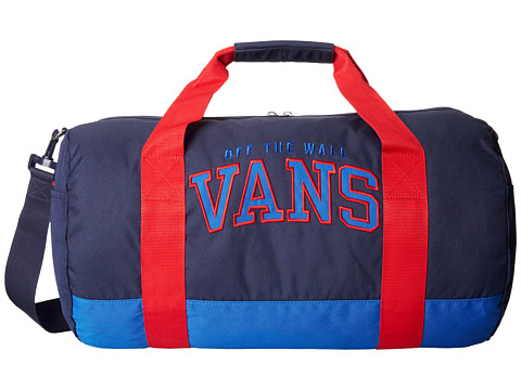 Vans - Anacapa Duffle (Classic Blue/Peacoat/Reinvent Red) Duffel Bags