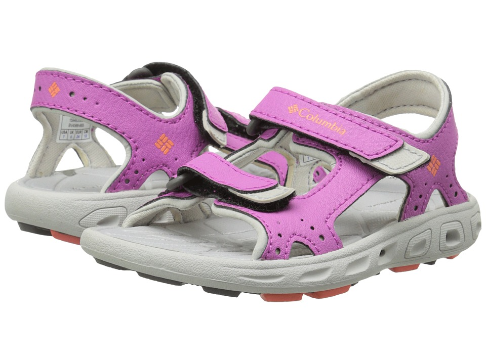 Columbia Kids - Techsun Vent (Toddler) (Foxglove/Coral Flame) Girl's Shoes
