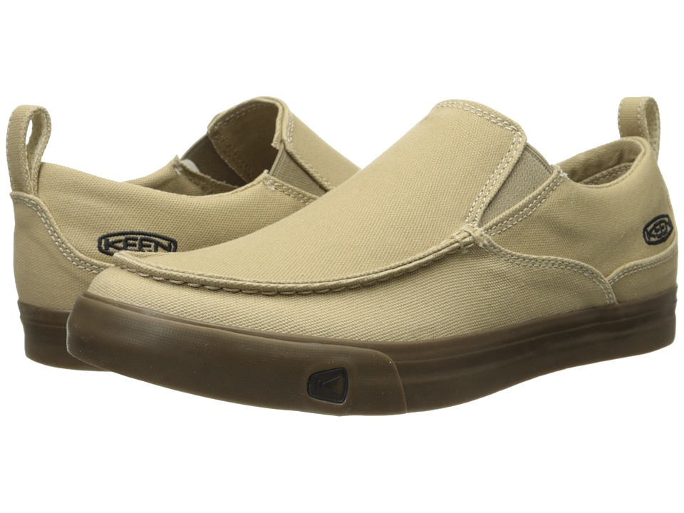 Keen - Timmons Slip-On Canvas (Kelp) Men's Slip on Shoes